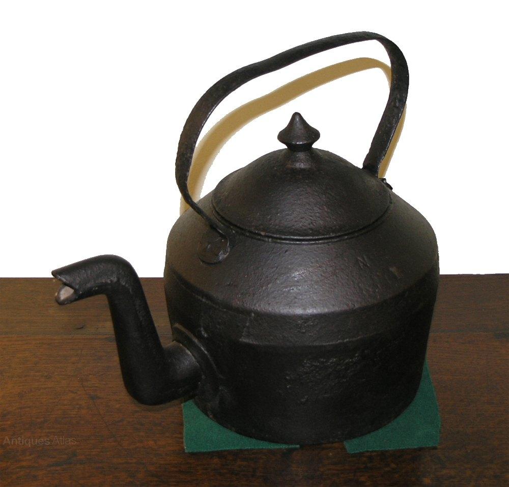 Kettle Cast Iron ~ Antiques atlas victorian cast iron kettle by swan no