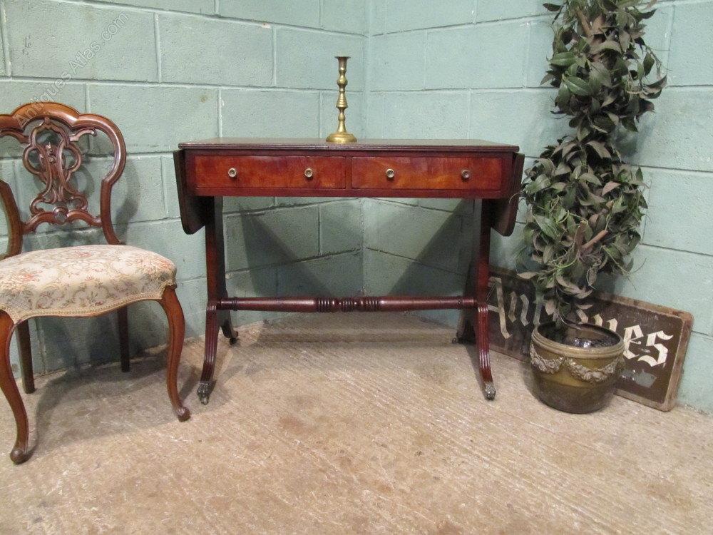 Antique victorian mahogany sofa table c1880 antiques atlas for Sofa table victorian