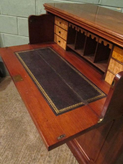 antique victorian mahogany secretaire bureau antiques atlas. Black Bedroom Furniture Sets. Home Design Ideas