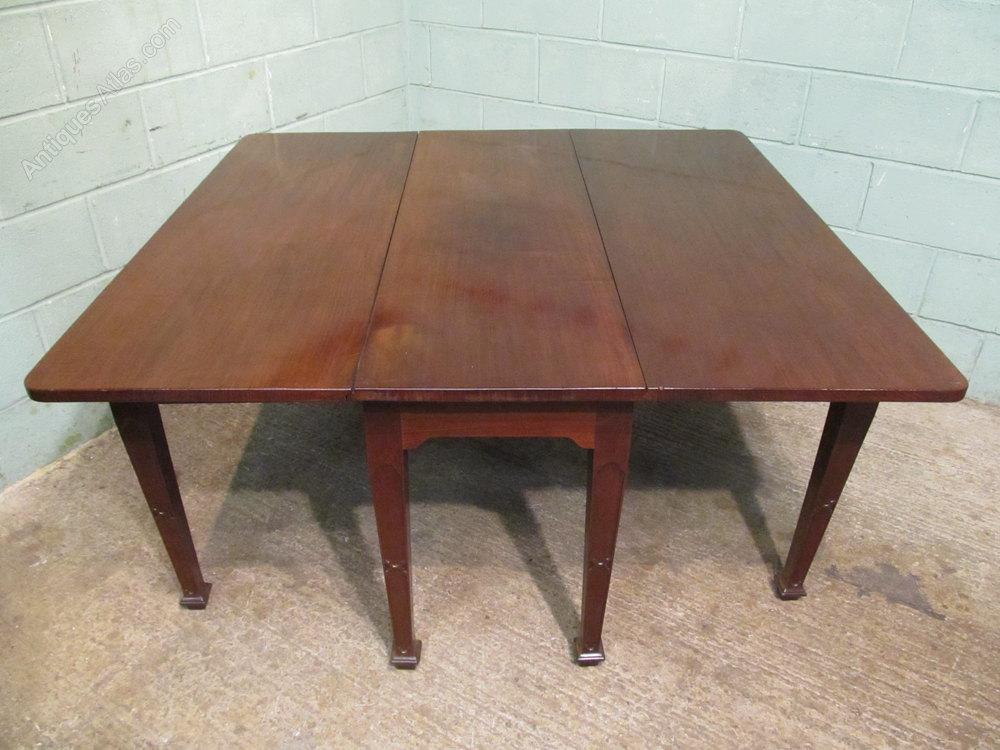 Edwardian Mahogany Gateleg Drop Leaf Dining Table  : EdwardianMahoganyGatelegDroas292a1204z 3 from www.antiquesatlas.com size 1000 x 750 jpeg 129kB