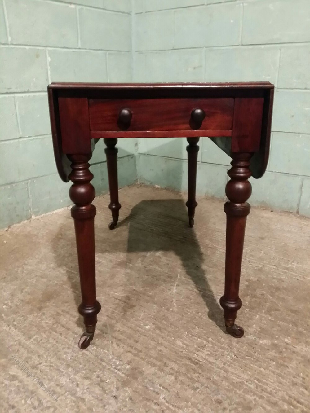 Victorian Mahogany Pembroke Table C1880 Antiques Atlas