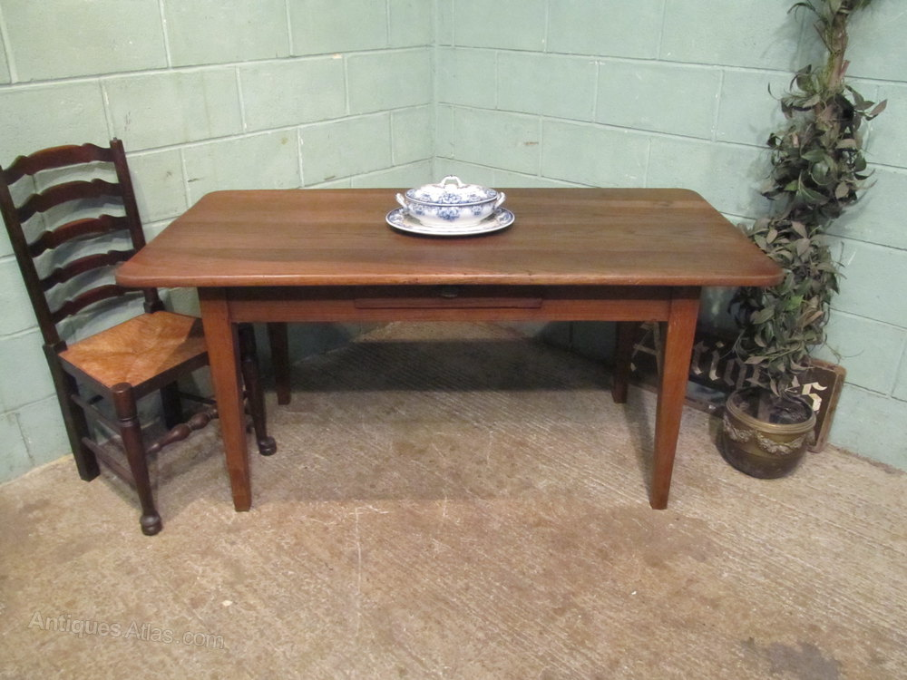 antique french oak farmhouse dining table c1880 antiques Farmhouse Living Old Farmhouse Kitchen Tables