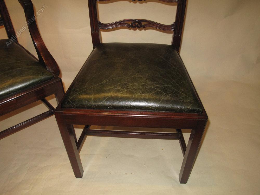 Set 10 Mahogany Dining Chairs Antiques Atlas