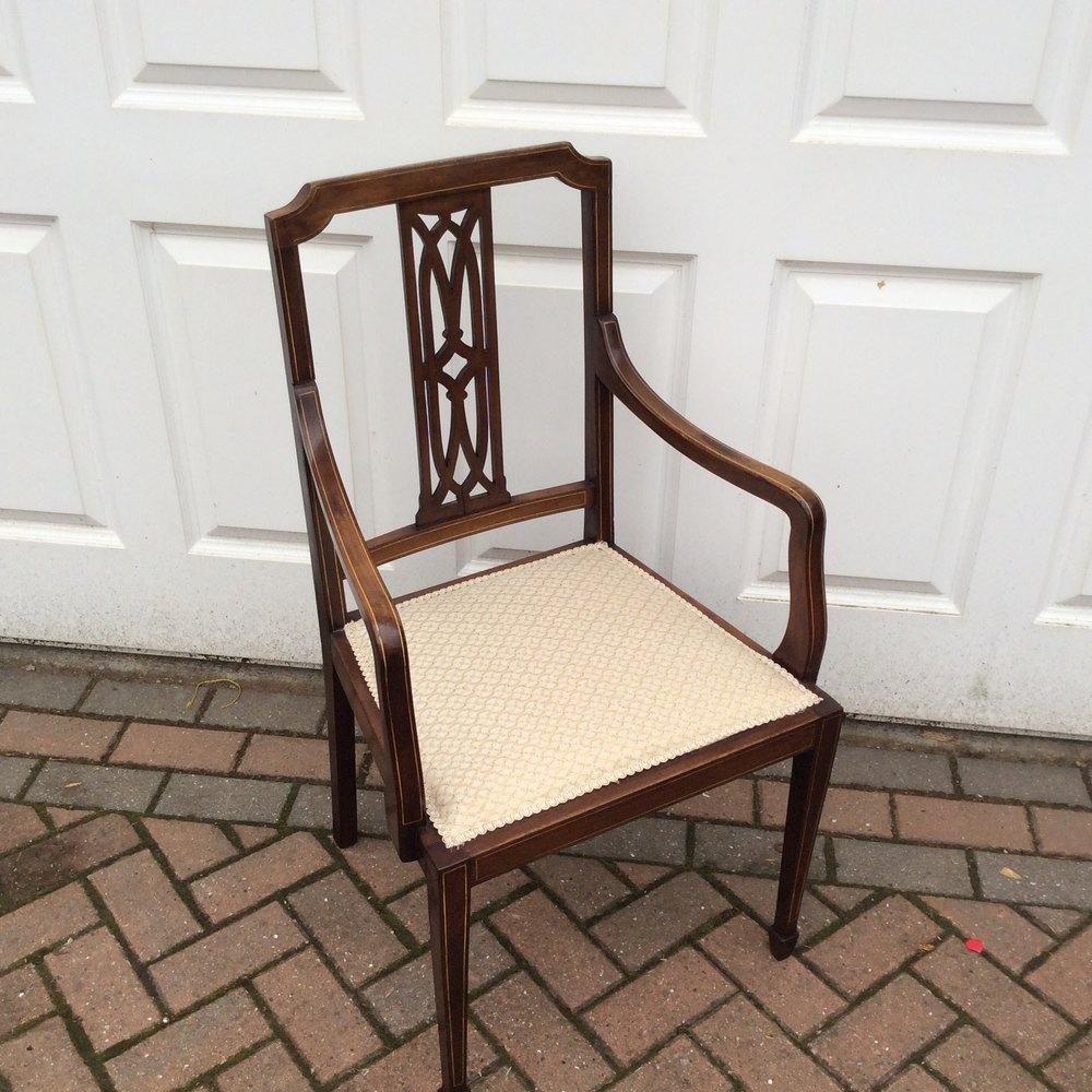 Set 6 six antique Edwardian mahogany dining chairs Chair Sets of 6 Antique  Dining Chairs ... - Set 6 Six Antique Edwardian Mahogany Dining Chairs - Antiques Atlas