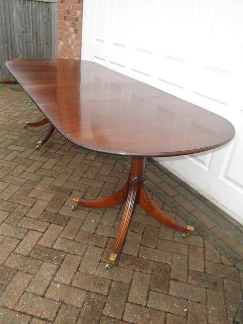 antiques atlas - vintage mahogany extending dining table - harrods