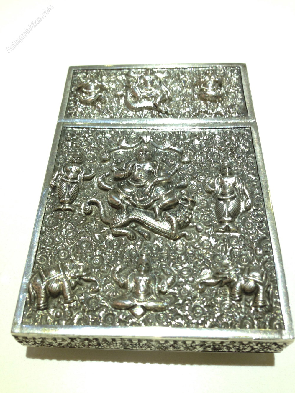 Antiques Atlas Anglo Indian Victorian Silver Calling