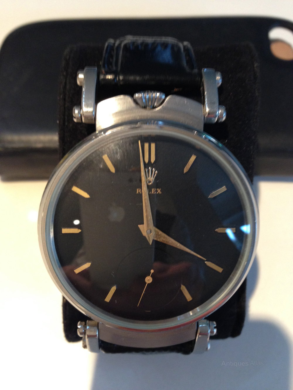 antiques atlas rolex wrist watch