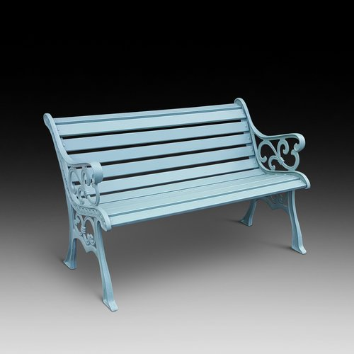 1930's Cast Iron Bench