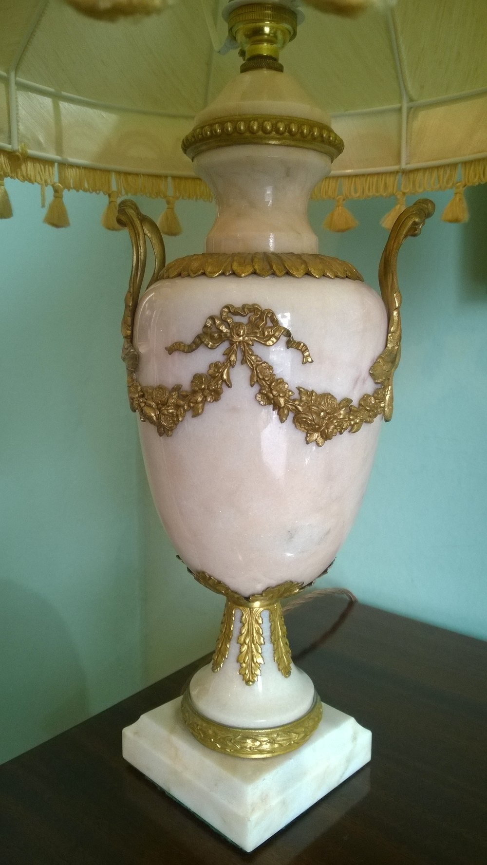 Antiques Atlas Alabaster And Gilt Decorated Table Lamp