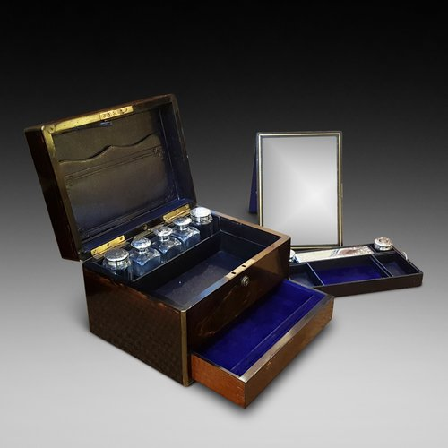 Asprey of London Macassa Ebony Jewellery Box