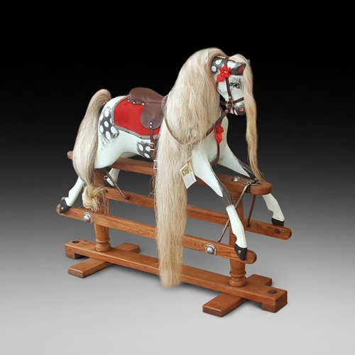 Early 20thC Lines of London Rocking Horse