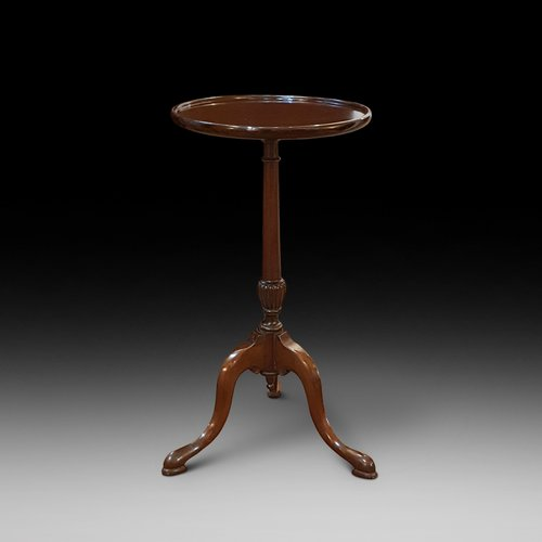 Early 20thC mahogany occaisional wine table