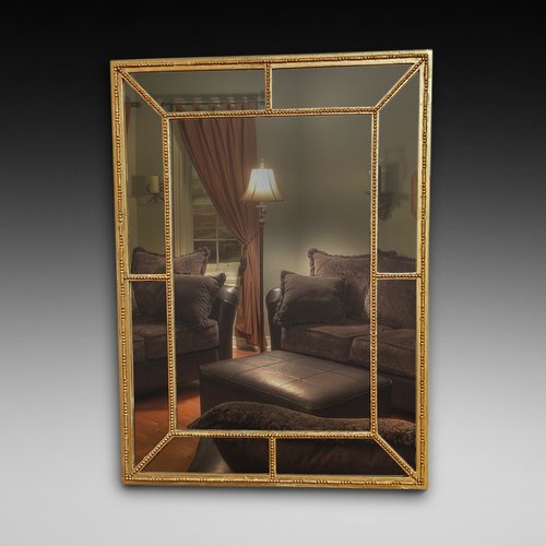 Edwardian Gilt Framed Wall Mirror