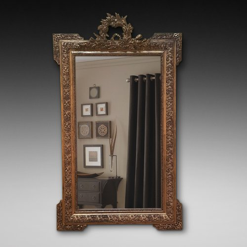 Edwardian Giltwood Wall Mirror