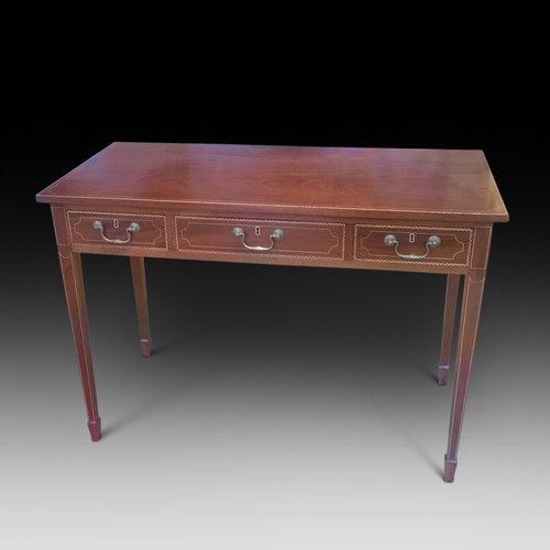 edwardian mahogany hall table antiques atlas