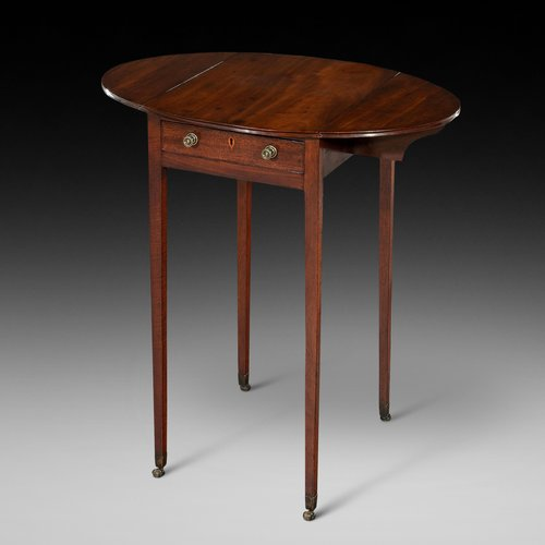 George III Mahogany Pembroke Lamp Table