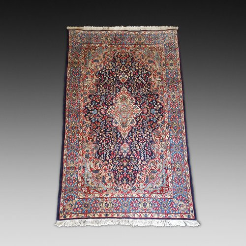 Hand Woven Woolen Kirman Persian Carpet