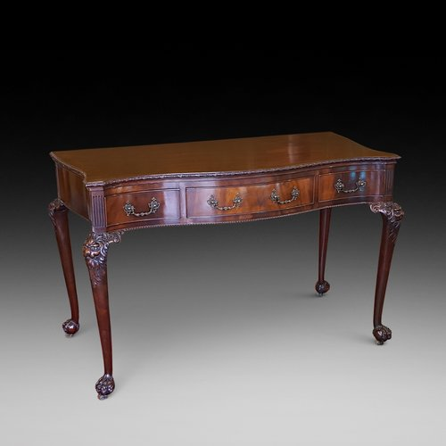 Late 19thC Chippendale Style Console Table