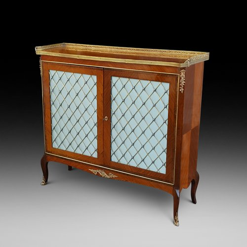 Late 19thC French side cabinet