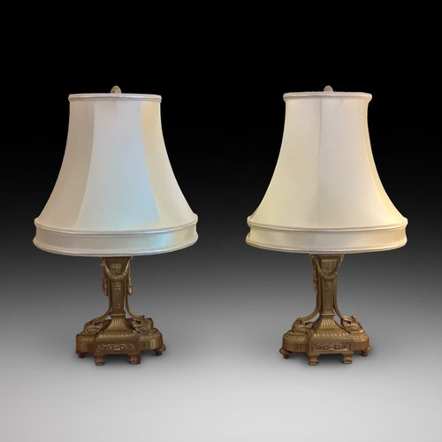 Pair of Excellent Quality Ormalu Table Lamps