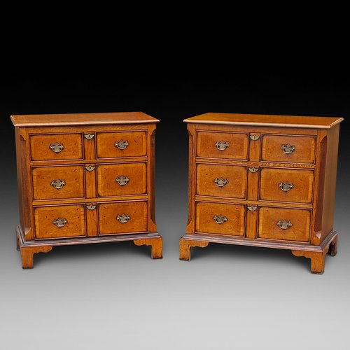 Pair of George II Style Yew Chests