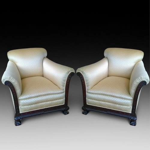 Pair of Late 19th Century Armchairs