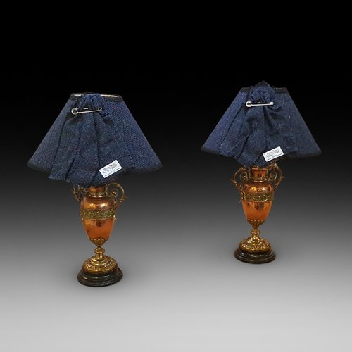 Pair of Late 19th Century Table Lamps