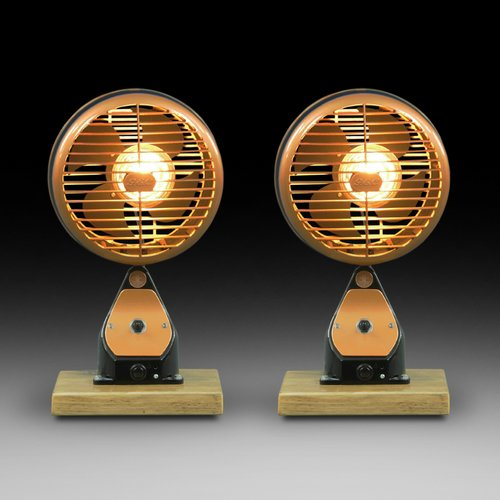 Pair of Steam Punk inspired table lamps