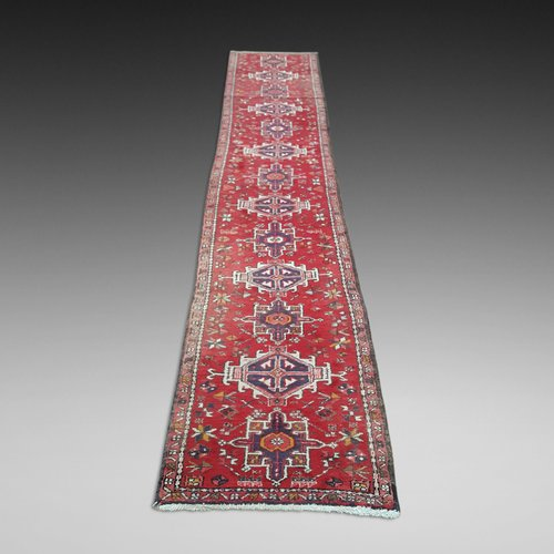 Persian Kashan Pure Wool Runner