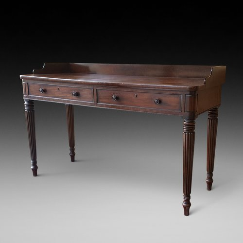 Regency Mahogany Console Table