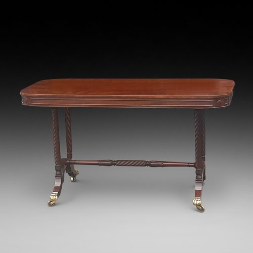 Regency Mahogany Library Table by Gillows