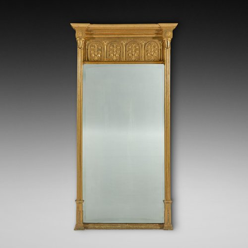 Regency Period Giltwood Pier Mirror