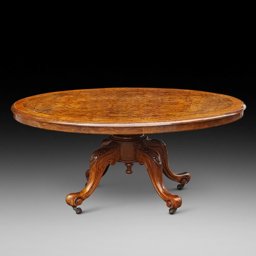 Victorian Burr Walnut CoffeeTable
