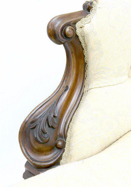 Victorian chaise longue antiques atlas for Antique victorian chaise longue