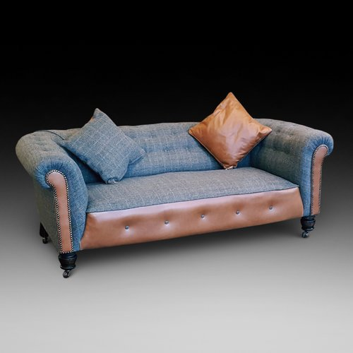 Victorian Chesterfield Style Sofa Settee