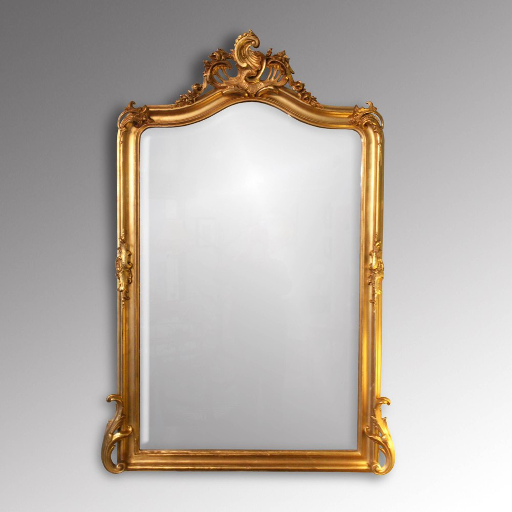 Antiques Atlas Victorian Gilt Overmantle Mirror