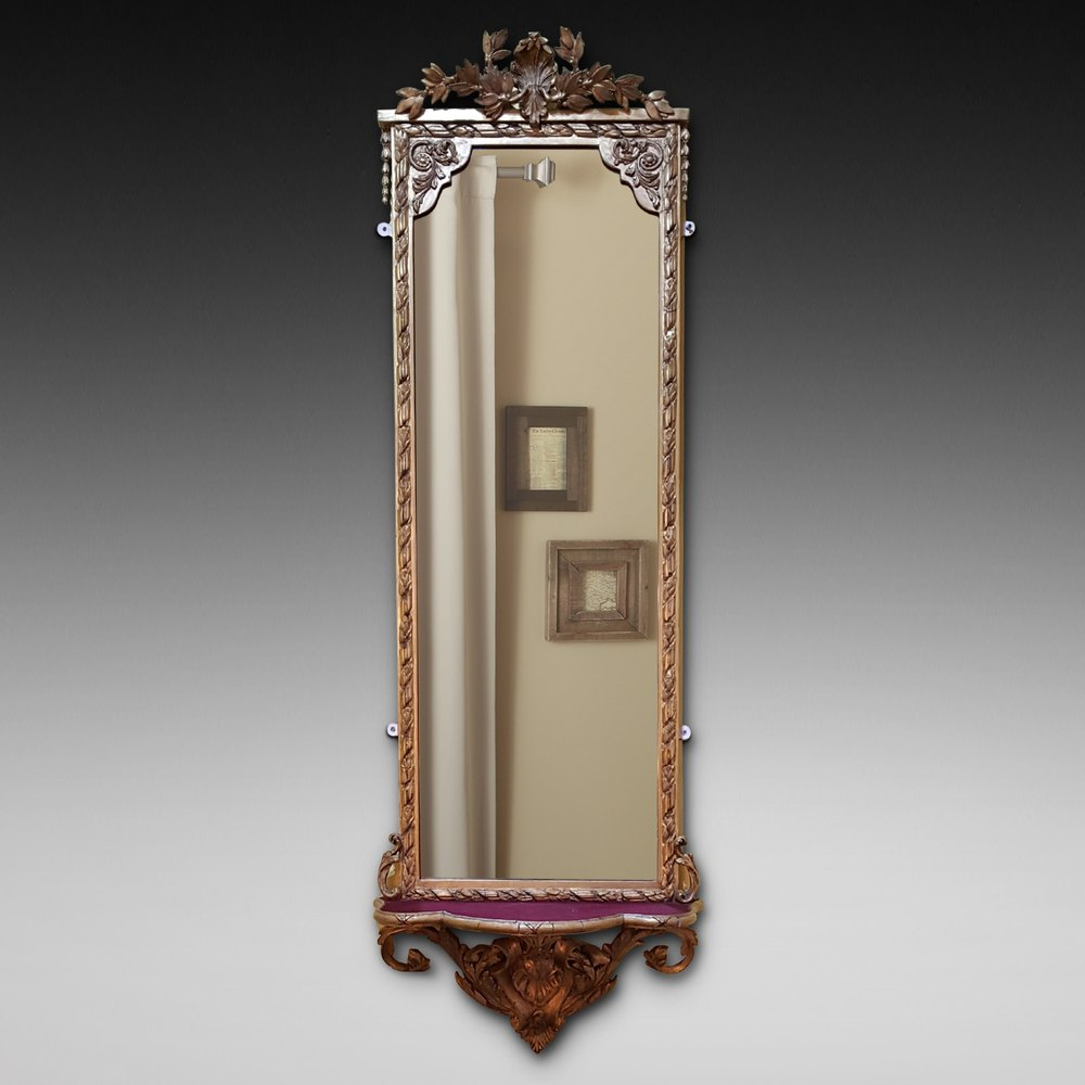 Antiques atlas victorian giltwood pier mirror for Victorian mirror