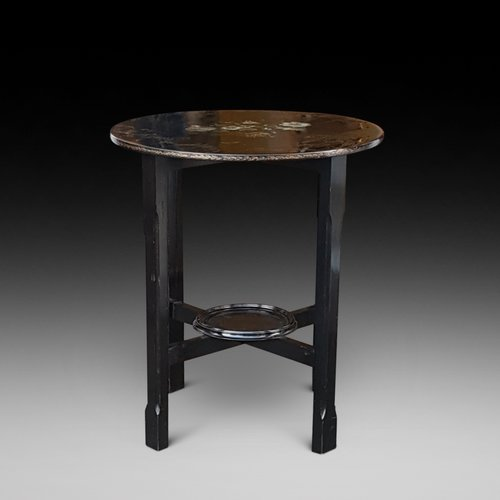 Victorian lacquered side table