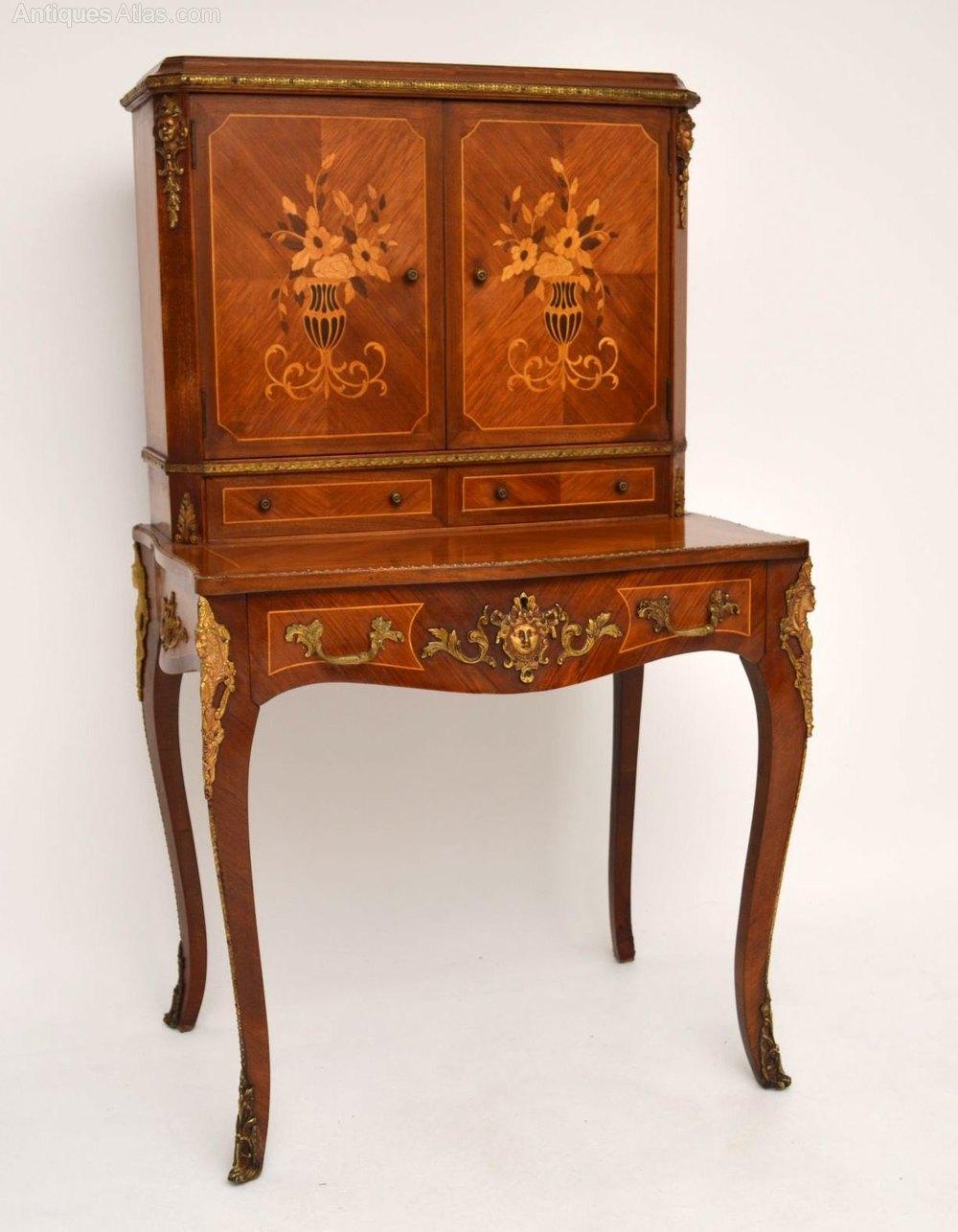 Antique french kingwood bureau cabinet antiques atlas for Bureau french