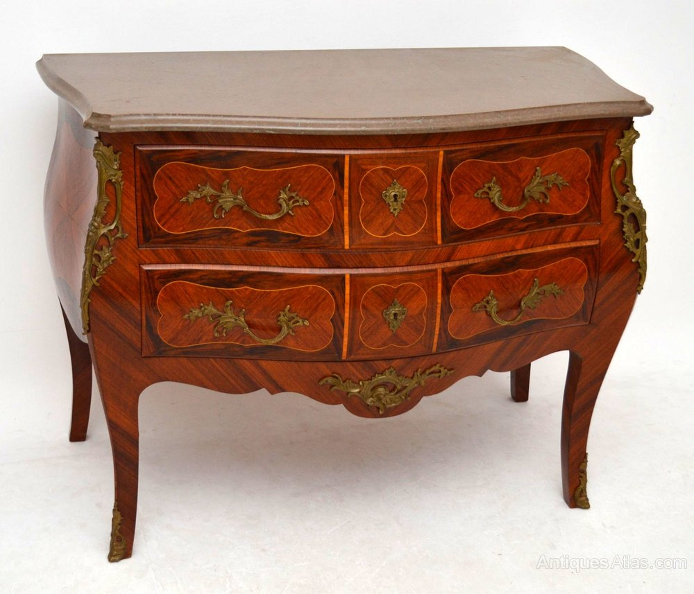 antique swedish marble top bombe commode chest antiques atlas. Black Bedroom Furniture Sets. Home Design Ideas