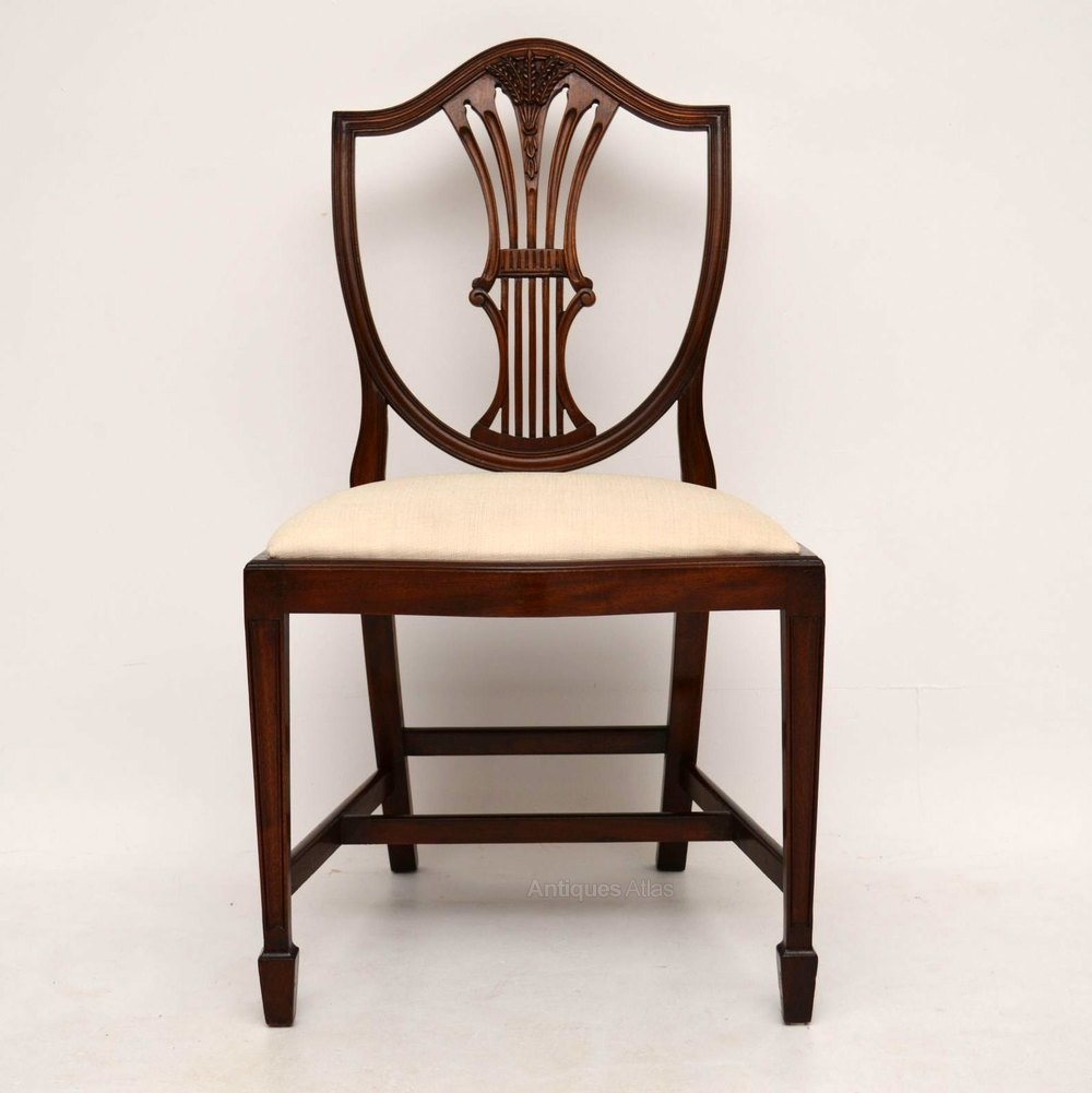 Antiques atlas set of antique georgian style dining chairs
