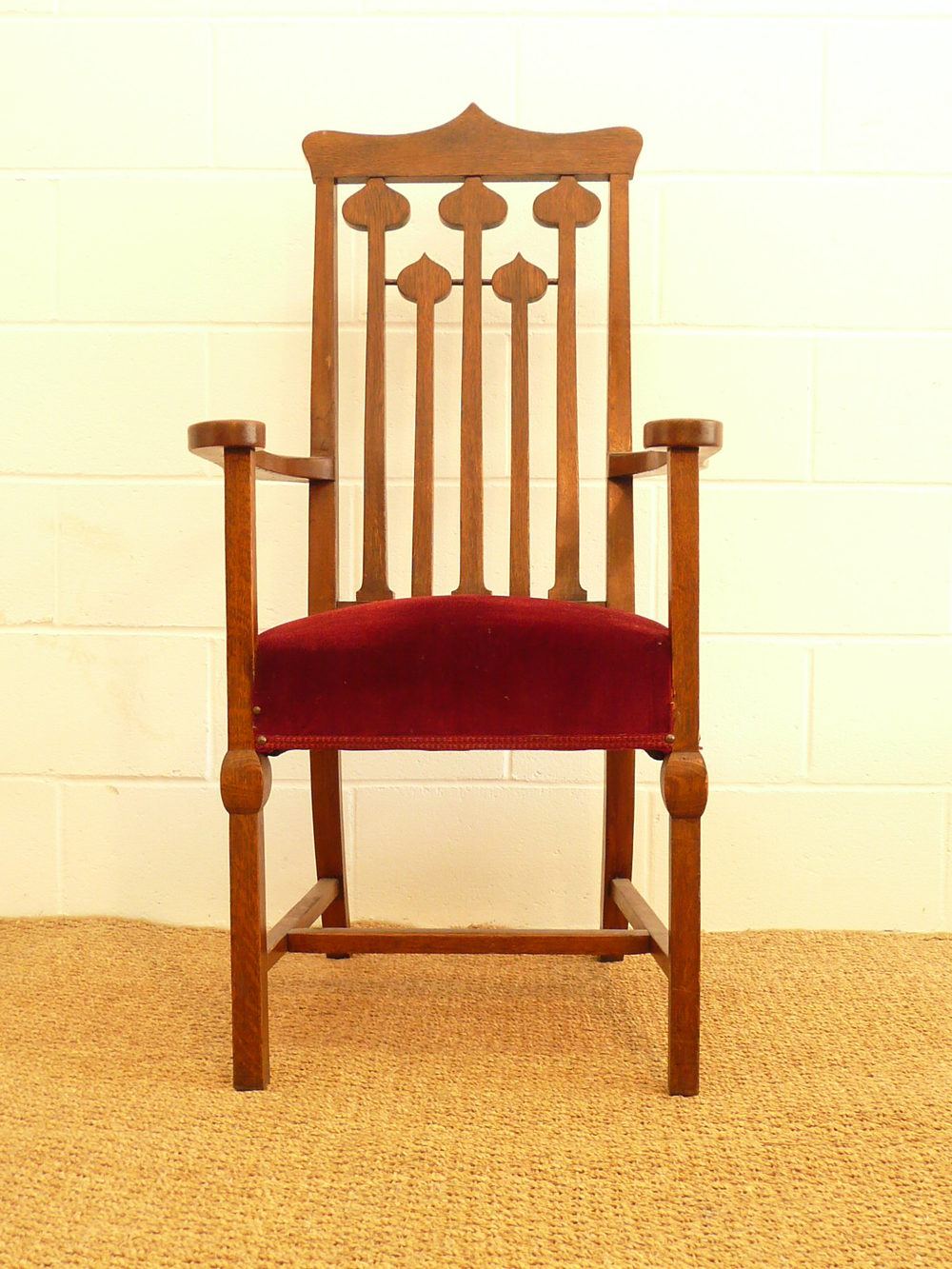 8 Glasgow Style Dining Chairs Antiques Atlas