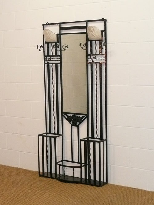 art deco hall stand antiques atlas