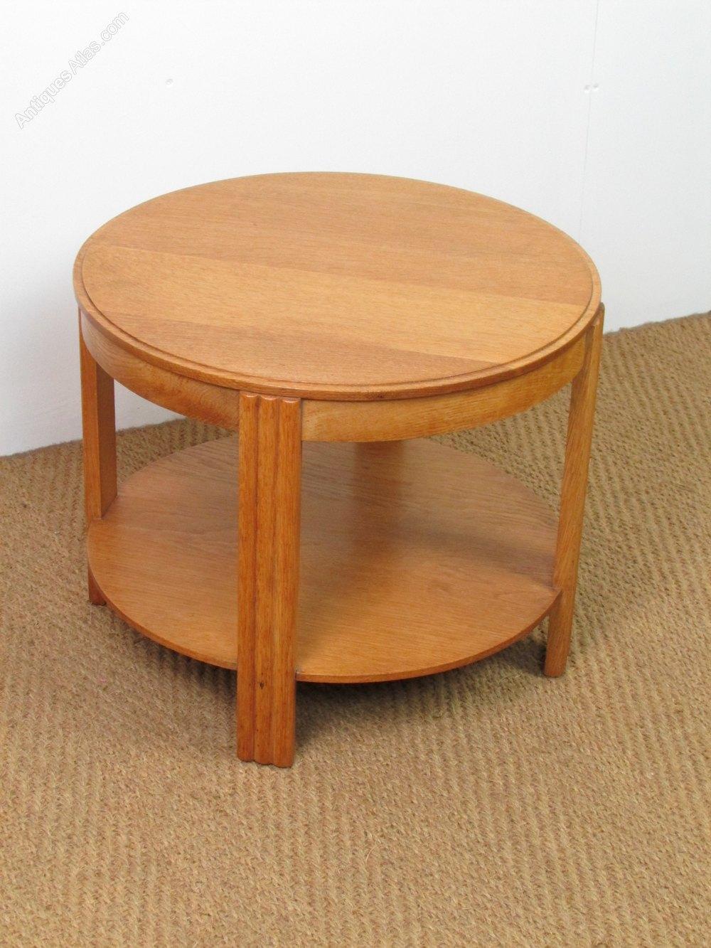 art deco oak coffee side table antiques atlas. Black Bedroom Furniture Sets. Home Design Ideas