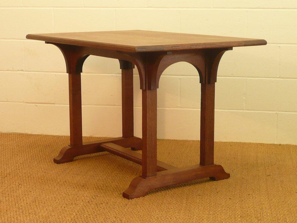 arts crafts oak table antiques atlas. Black Bedroom Furniture Sets. Home Design Ideas