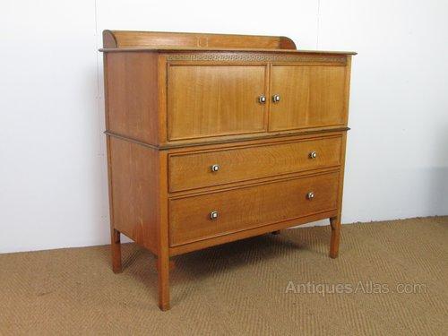 Bath Cabinet Makers Oak Linen Press Tallboy Antiques Atlas