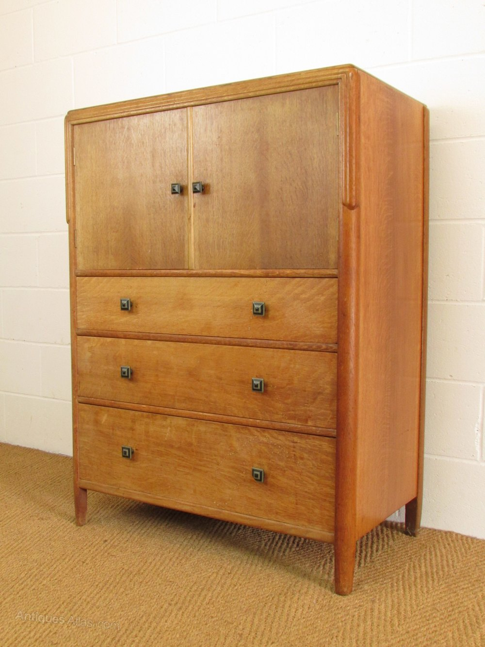 Bath Cabinet Makers Oak Tallboy Cabinet Over Chest