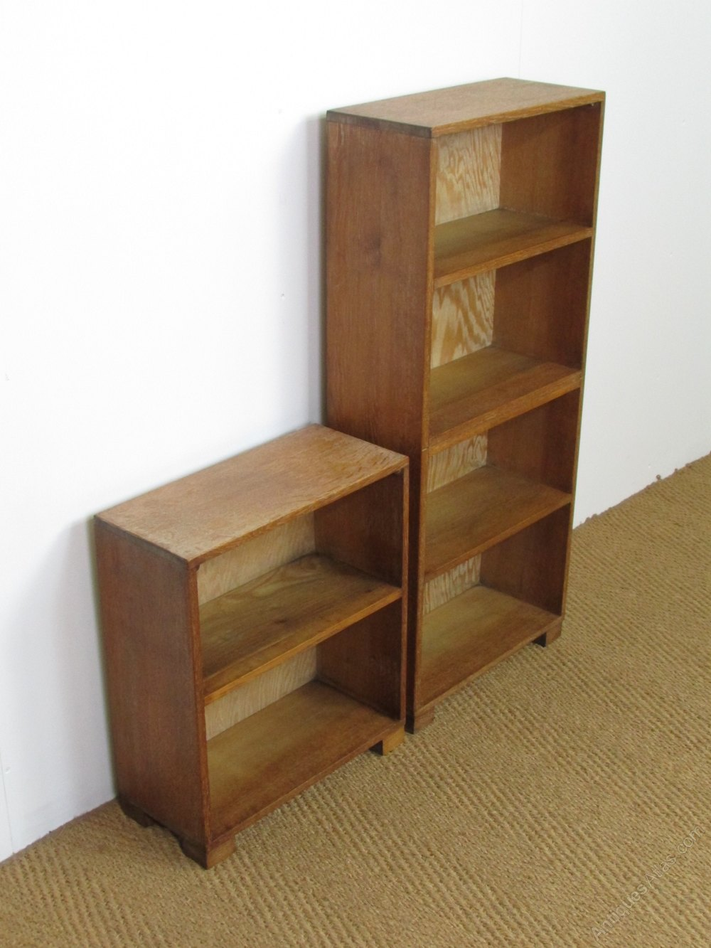 Heal's Limed Oak Unit Bookcases