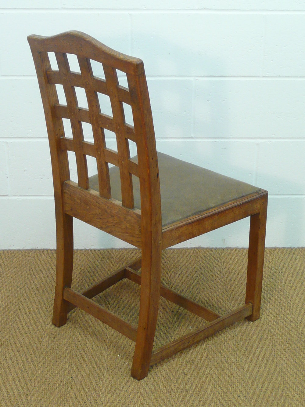 set of 6 heal 39 s lattice back dining chairs antiques atlas