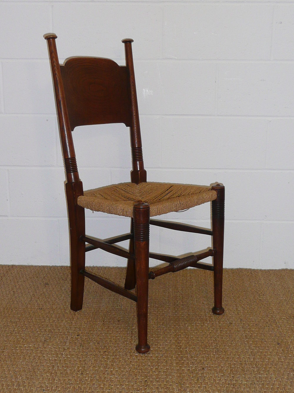 Set Of 8 William Birch Dining Chairs Antiques Atlas